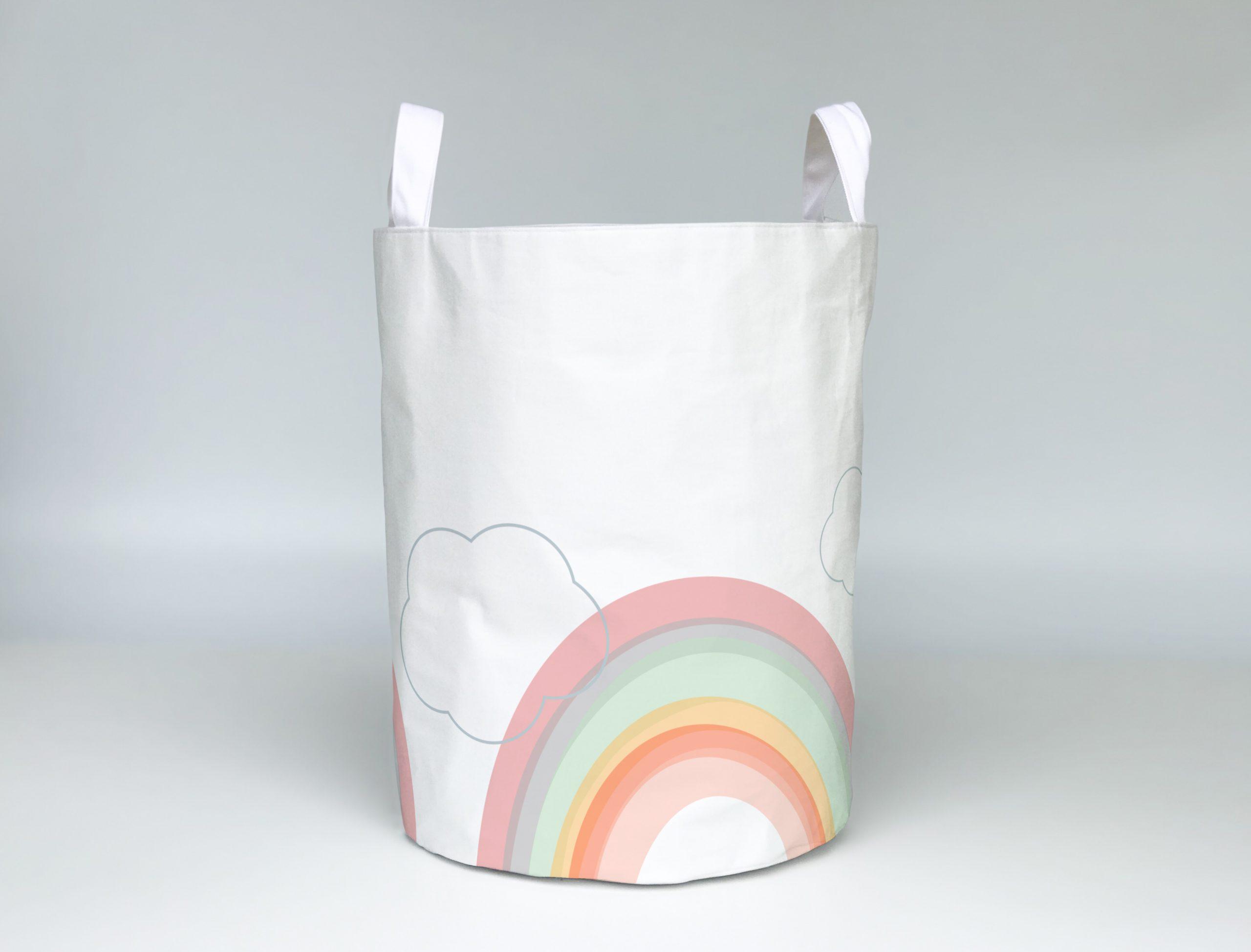 Soft rainbows baby hamper - Cotton Fox Prints