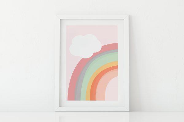 kid'sroom rainbow print