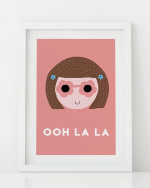 Girls ooh la la print