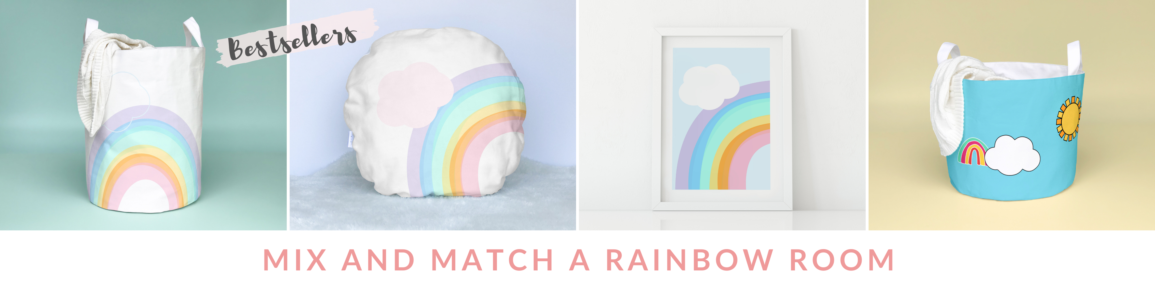 rainbow room decor