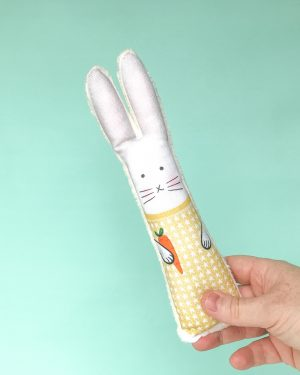 Yellow bunny rabbit gift