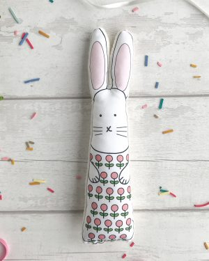 Personalised bunny rabbit toy