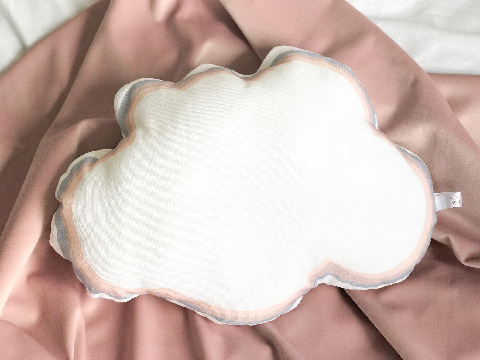 Cotton cloud cushion
