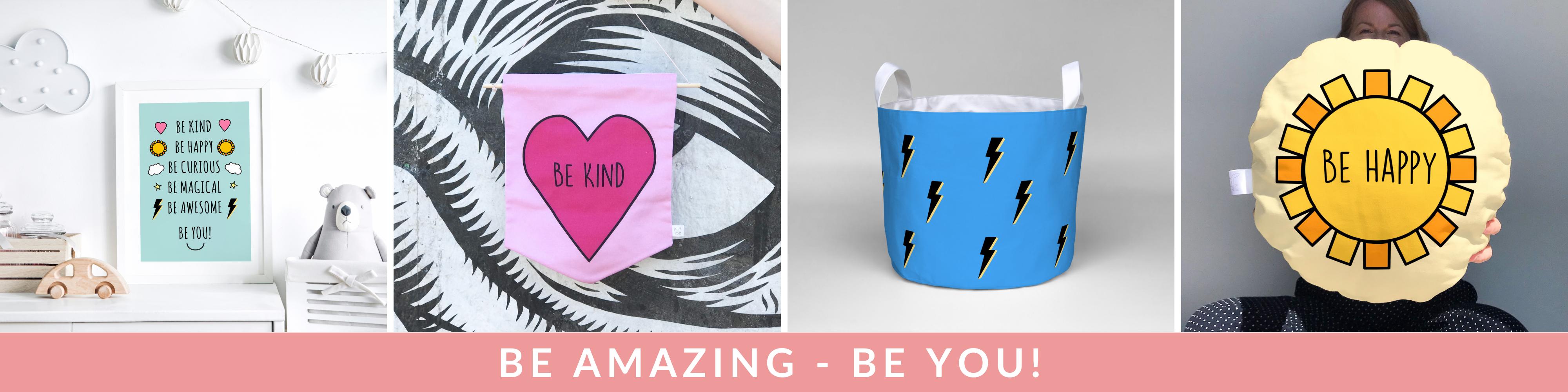 BE you - amazing kids decor